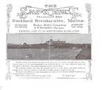 The Samoset Penobscot Bay 1909? by A. W. Hodgdon and Ricker Hotel Company
