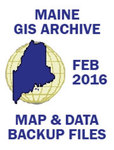 Maine GIS Map and Data Archive, February 2016 by Maine Office of GIS