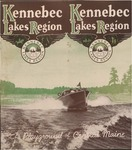 Kennebec Lakes Region The Playground of Central Maine 1939