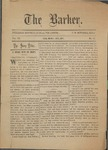 The Barker. 19th Century Newspaper by F. W. Mitchell