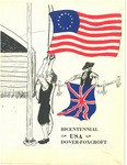 Bicentennial, 1776 USA 1976, Dover-Foxcroft, Maine by Cosmopolitan Club