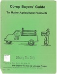 Co-op Buyers' Guide to Maine Agricultural Products