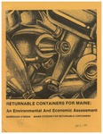 Returnable Containers for Maine : An Environmental and Economic Assessment by Murrough O'Brien