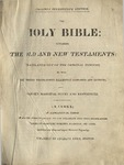 Chamberlain Family Genealogy from Family Bible