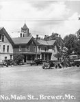 North Main Street, Near Danforth Hardware, Brewer, Maine by J.Craig Thayer Photography