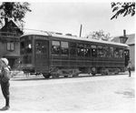 Trolley at Brewer High School, Brewer, Maine by J.Craig Thayer Photography