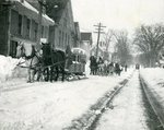 Snow Removal Horse Teams, Brewer, Maine