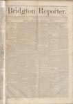 Bridgton Reporter : Vol.1, No. 6 December 17,1858 by Bridton Reporter Newspaper