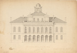 Plans for the Maine State Capitol Building p.12 by Charles Bulfinch