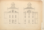 Plans for the Maine State Capitol Building p.13 by Charles Bulfinch