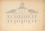 Plans for the Maine State Capitol Building p.14 by Charles Bulfinch