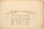 Plans for the Maine State Capitol Building p.15 by Charles Bulfinch