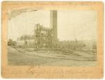 Poland Paper Company fire, View 1