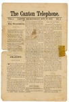 The Canton Telephone: Vol. 1, No. 2 - November 30, 1878