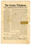 The Canton Telephone: Vol. 1, No. 3 - December 14, 1878