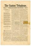 The Canton Telephone: Vol. 1, No. 4 - December 30, 1878