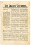 The Canton Telephone: Vol. 1, No. 6 - January 30, 1879