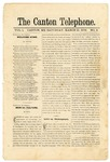 The Canton Telephone: Vol. 1, No. 9 - March 15, 1879
