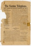 The Canton Telephone: Vol. 1, No. 10 - March 29, 1879