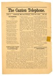 The Canton Telephone: Vol. 1, No. 18 - July 26, 1879