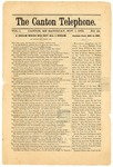 The Canton Telephone: Vol. 1, No. 25 - November 1, 1879