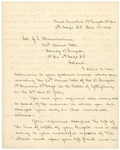 Letter from James Barnes to Joshua L. Chamberlain, September 1, 1863