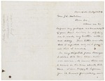 1864-07-22  John C. Chamberlain describes visit to gravely wounded brother Joshua Chamberlain