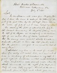 Letter from Chamberlain - Gettysburg battle report, July 6, 1863