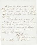 1861-09-24 Joshua L. Chamberlain to Gov. Washburn recommending Walter Poor by Joshua Lawrence Chamberlain