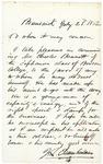 1862-07-23 Chamberlain recommends Charles Bennett by Joshua Lawrence Chamberlain