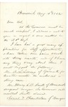 1862-08-15  Letter from Chamberlain recommending A.L. Loring and others for commission