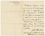 Letter Recommending A.N. Linscott, August 15, 1862