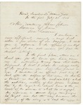 Letter from Chamberlain to Governor Coburn after Gettysburg, July 21, 1863
