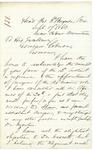 Letter from Chamberlain to Gov. Coburn, September 19, 1863 by Joshua Lawrence Chamberlain and Abner Coburn