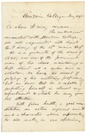 Letter from Joshua Chamberlain Regarding E.P. Loring, May 22, 1862 by Joshua Lawrence Chamberlain