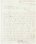 Letter from Chamberlain Re: Adelbert Ames Promotion, November 16, 1862