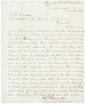 Letter from Chamberlain Re: Adelbert Ames Promotion, November 16, 1862 by Joshua Lawrence Chamberlain