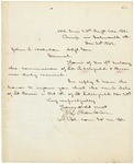 Chamberlain to Hodsdon RE: Litchfield Promotion, December 20, 1862 by Joshua Lawrence Chamberlain and John L. Hodsdon