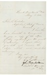 Chamberlain to John Hodsdon, Regimental Returns, May 18, 1863