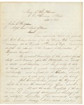 James C. Rice to Hodsdon RE Chamberlain Promotion, September 8, 1863