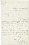 1863-11-11  Joseph Fitch recommends the promotion of John Lynes