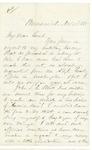 1865-11-11  Chamberlain writes to John L. Hodsdon regarding history of 20th Maine Regiment