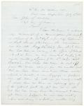 1863-07-11 Chamberlain writes to Adjutant General Hodsdon regarding the lack of supplies by Joshua Lawrence Chamberlain