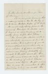 Undated - Sidney Perham recommends Sergeant Randall R. Morton for promotion to 2nd Lieutenant