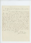 Undated - J.L. Smith recommends Mr. Bailey for commission