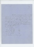 Undated - J.B. Fitch and commissioned officers of the regiment recommend Sergeant H. Long for promotion