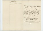 Undated -  John Marshall Brown requests a meeting