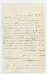 1862-04-15  Joshua Vincent Smith requests to enter service though he is not of age