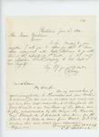 1862-06-02 E. Snow accepts position as 1st Lieutenant by E. Snow