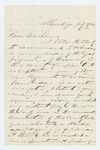 1862-07-05 S. Coburn recommends Mr. Andrews for a position as Captain by S. Coburn